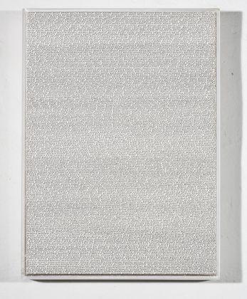 Roman Opalka, Detail 3711571 3714651, 1965. Courtesy Collezione Marcello Forin e Galleria Michela Rizzo