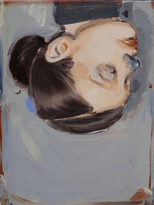 Romina Bassu, Sottosopra, 2017, acrilico su tela