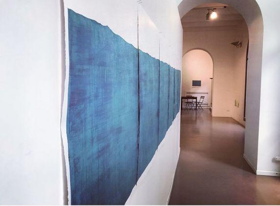 Rui Inácio. Ó mar de Deus amansai. Exhibition view at Galleria Nuvole, Palermo 2017