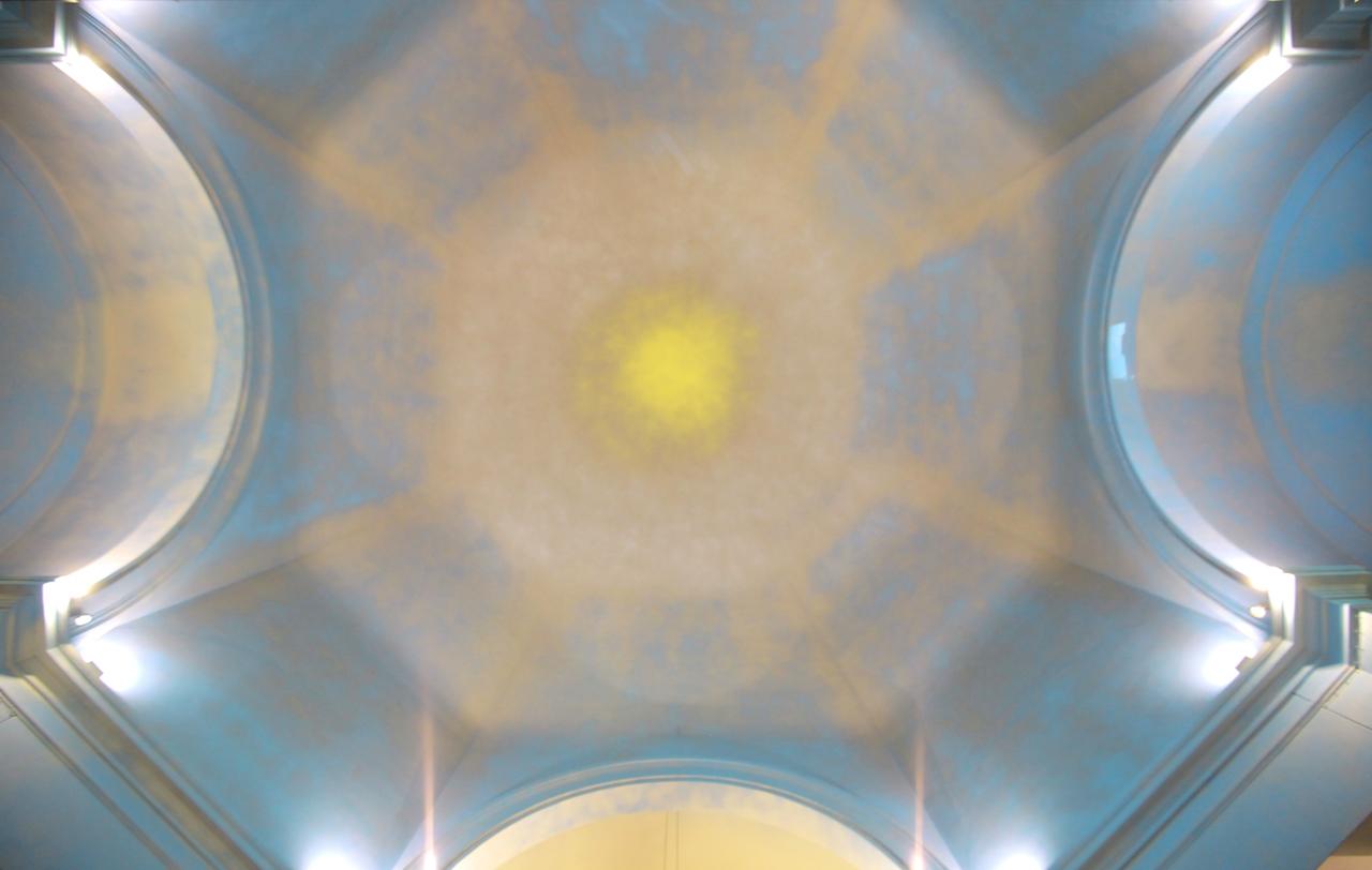 L'intervento nella Chiesa di San Giovanni a Milano