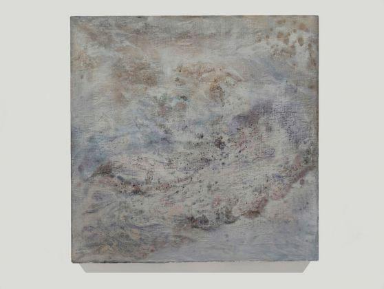 Sabrina Casadei, Cosmos #2, 2017, tecnica mista su tela, 65 x 65 cm
