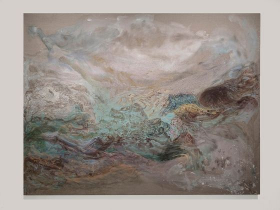 Sabrina Casadei, Wonder, 2017, tecnica mista su tela, 200 x 260 cm