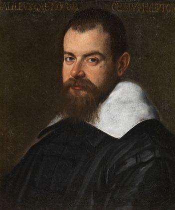 Santi di Tito, Ritratto di Galileo Galilei, 1601. Grassina, Collezione Alberto Bruschi