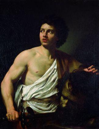 Simon Vouet, Davide con la testa di Golia, 1621. Genova, Musei di Strada Nuova - Palazzo Bianco