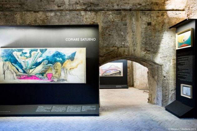 Studio Bianchi Architettura, allestimento della mostra Luigi Pellegrin. Copiare Saturno, Roma 2014