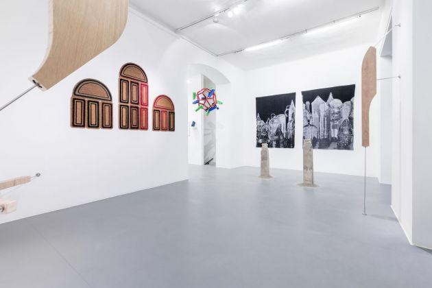 To Keep At Bay. Exhibition view at Galleria Bianconi, Milano 2018. Photo Tiziano Doria