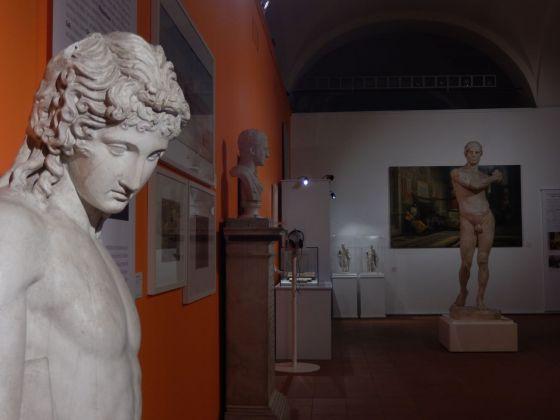 Tra erudizione antiquaria e classicismo. Installation view at Foro Boario, Modena 2018