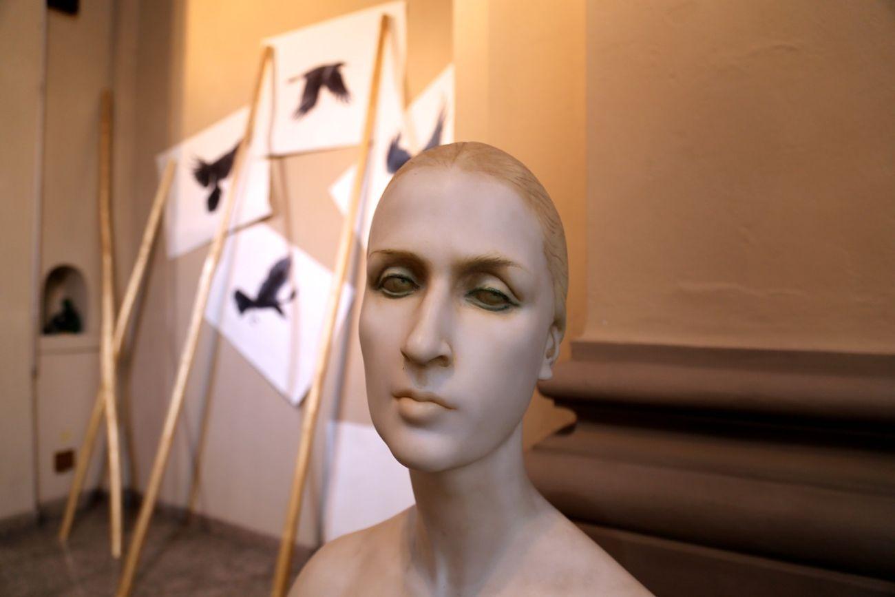 Vanni Cuoghi. The Invisible Sun. Installation view at Studio Museo Francesco Messina, Milano 2017. Photo adicorbetta