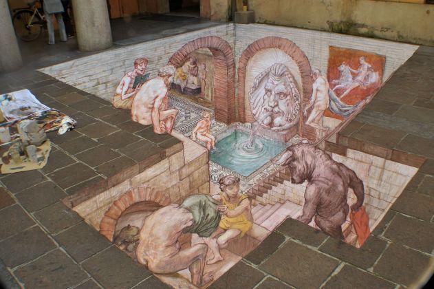 Varchi nel tempo. Eduardo Relero, Terme romane. Modena, Palazzo della Provincia
