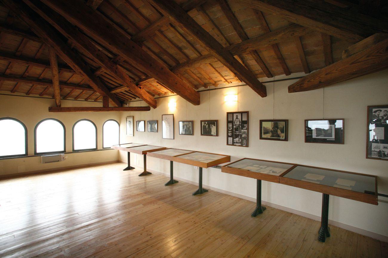 Veduta di una delle sale della Fondazione Tito Balestra a Longiano
