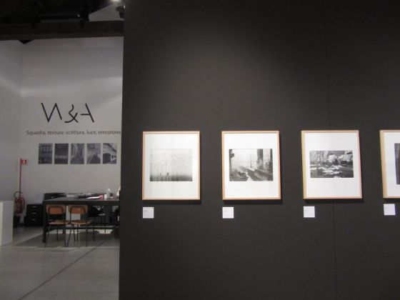 Venise '55/'65. Gianni Berengo Gardin & Sergio Del Pero. Exhibition view at Fondation Wilmotte, Venezia 2017