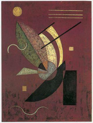 Wassily Kandinsky, Bastoncini neri, 1928. Collezione privata