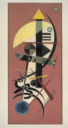 Wassily Kandinsky, Spitz Rund (Appuntito Tondo), 1925. GAMeC, Bergamo, Raccolta Spajani