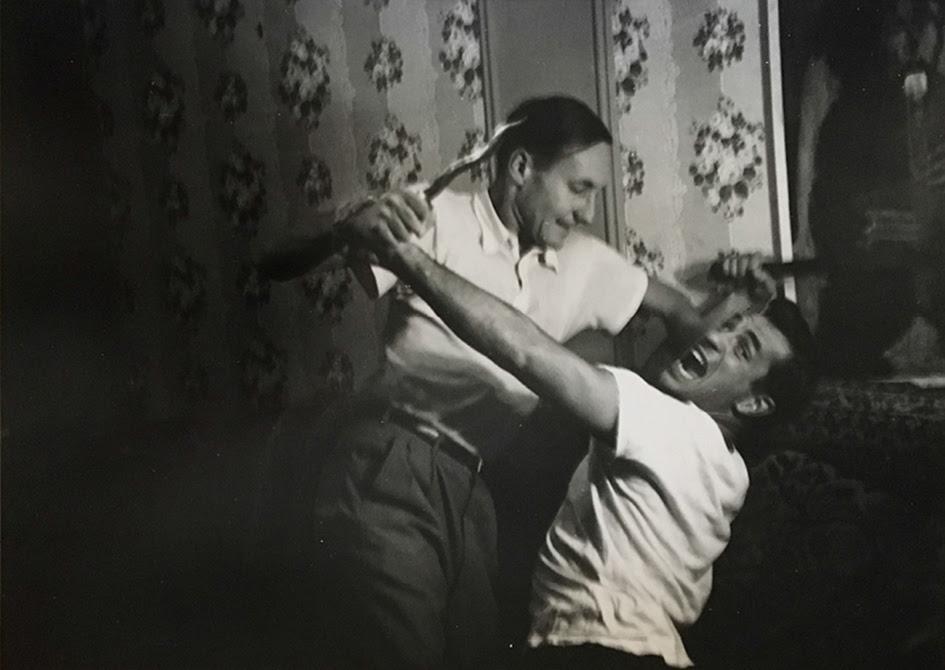 William S Burroughs and Jack Keourac, 1953 © Allen Ginsberg Estate