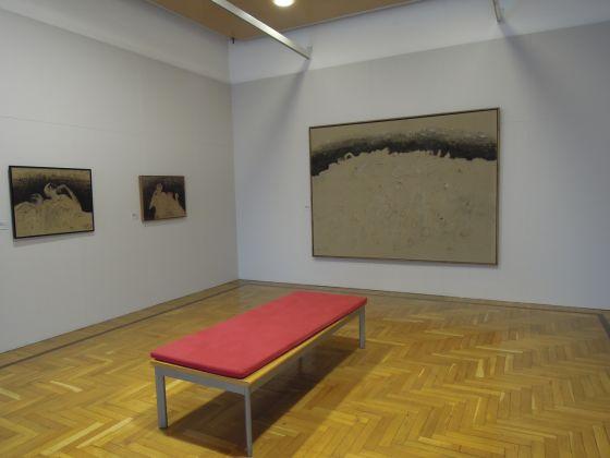 Zoran Music – Se questo è un uomo – veduta della mostra presso SALe, Palazzo Leone da Perego, Legnano 2012