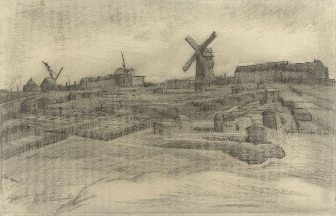 Vincent van Gogh, The Hill of Montmartre, 1886, Van Gogh Museum Amsterdam (Vincent van Gogh Foundation)