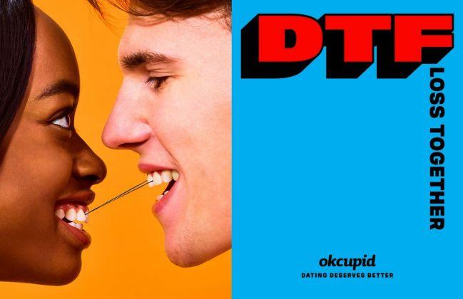 La campagna per OkCupid di Cattelan e Ferrari