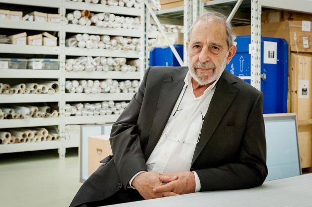 Álvaro Siza negli archivi del Canadian Centre for Architecture (2015). © CCA