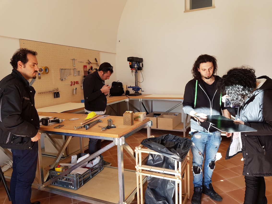 Open Design School, Matera