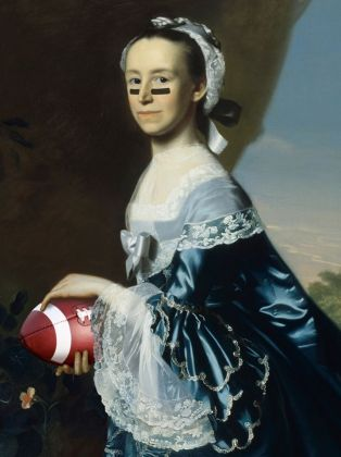 Mrs. James Warren (Mercy Otis), about 1763, John Singleton Copley.