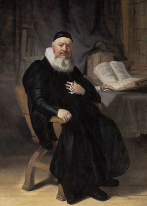 Reverend Johannes Elison, 1634, Rembrandt van Rijn