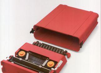 Valentine con valigetta_Macchina per scrivere manuale portatile 1969_Ettore Sottsass jr_Perry A King