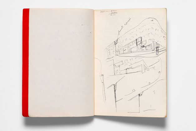 Álvaro Siza. Sketchbook 89 (August 1981) AP178, Álvaro Siza fonds, Canadian Centre for Architecture, Gift of Álvaro Siza. © Álvaro Siza