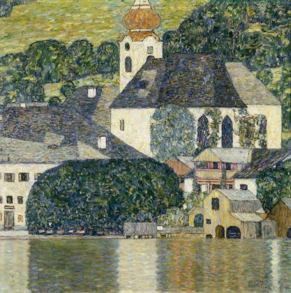 Gustav Klimt Kirche in Unterach am Attersee, 1916 Öl auf Leinwand 110 x 110 cm Courtesy Heidi Horten Collection