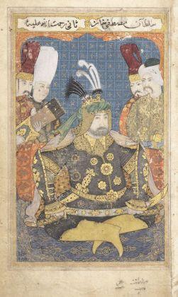Portrait posthume de Mustafa II en armure © Musée du Louvre, dist. RMN Grand Palais Raphaël Chipault