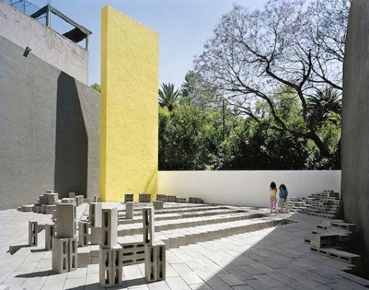 Frida Escobedo, El Eco Pavilion, 2010, Mexico City, Photography: Rafael Gamo