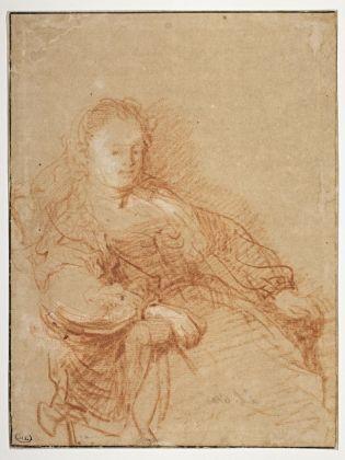 Portrait de Saskia, assise dans un fauteuil, Rembrandt, Harmensz van Rijn © RMN Grand Palais (Musée du Louvre) Michel Urtado