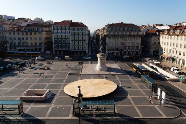 Frida Escobedo, Civic Stage, 2013, Close-Closer- Lisbon Architecture Triennale, Lisbon, Portugal, Photography: Frida Escobedo, Catarina Botello