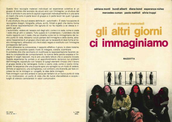AA.VV., a cura di, Ci vediamo mercoledì. Gli altri giorni ci immaginiamo, Gabriele Mazzotta, Milano, 1978, copertina