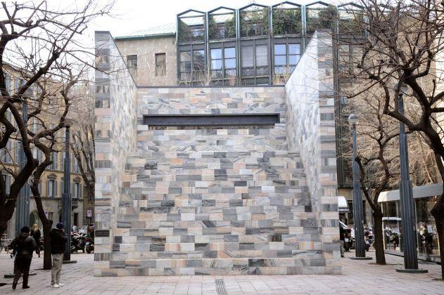 Aldo Rossi, Monumento a Sandro Pertini, Milano 1988 90. Courtesy Comune di Milano
