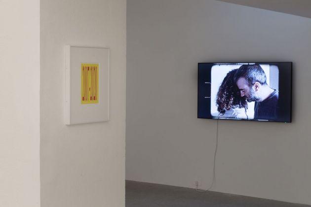 Alejandro Cesarco. The Measures of Memory. Installation view at Galleria Raffaella Cortese, Milano 2018