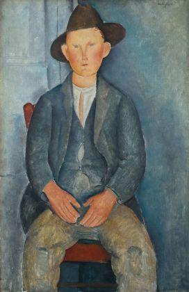 Amedeo Modigliani, Il piccolo contadino, 1918 ca. Tate, presented by Miss Jenny Blaker in memory of Hugh Blaker 1941