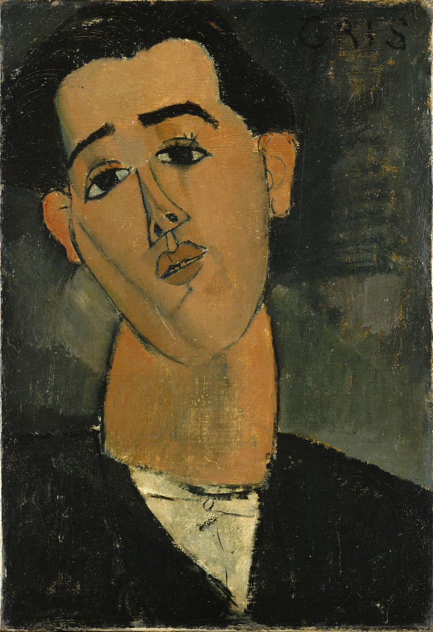 Amedeo Modigliani, Juan Gris, 1915. The Metropolitan Museum of Art, New York