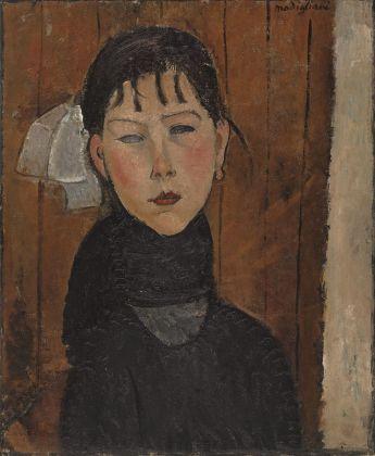 Amedeo Modigliani, Marie (Marie, fille du peuple), 1918. Kunstmuseum Basilea