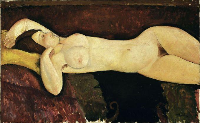 Amedeo Modigliani, Nudo disteso, 1919. Museum of Modern Art, New York