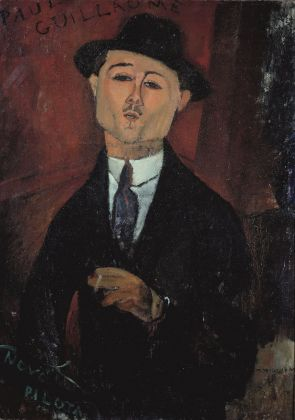 Amedeo Modigliani, Ritratto di Paul Guillaume, Novo Pilota, 1915. Musée de l'Orangerie, Parigi