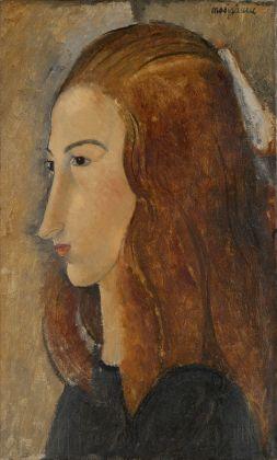 Amedeo Modigliani, Ritratto di giovane donna, 1918. Yale University Art Gallery