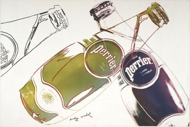 Andy Warhol, Perrier, 1983. MoMA, New York © 2018 Andy Warhol Foundation for the Visual Arts - Artists Rights Society (ARS), New York