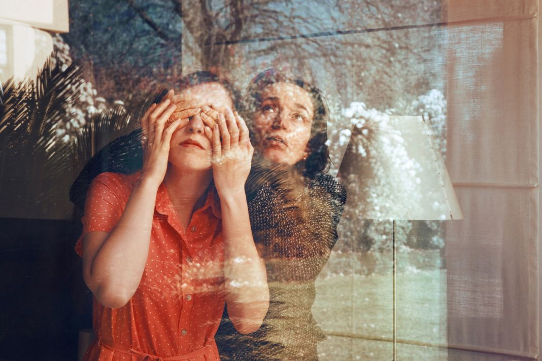 Anna Di Prospero, Self portrait with my mother, 2011 - Collezione Donata Pizzi