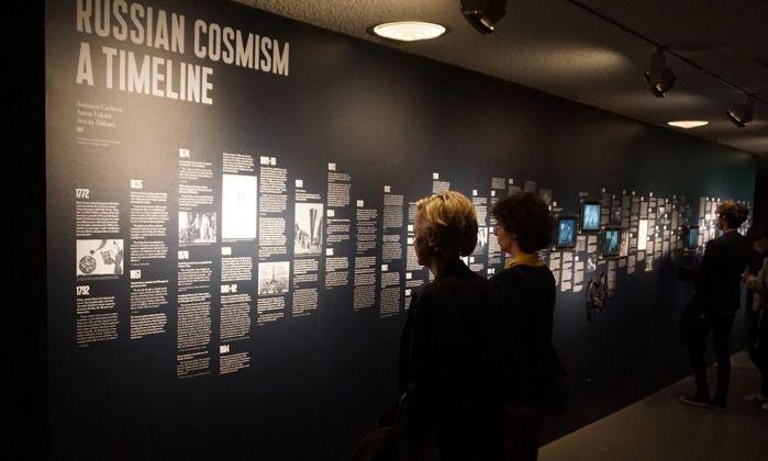 Art without Death. Russian Cosmism. Exhibition view at Haus der Kulturen der Welt, Berlino 2017