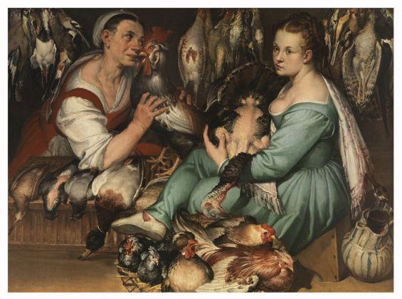 Bartolomeo Passerotti, Venditrici di pollame (Le pollarole), 1580. Firenze, Fondazione di Studi di Storia dell'arte Roberto Longhi