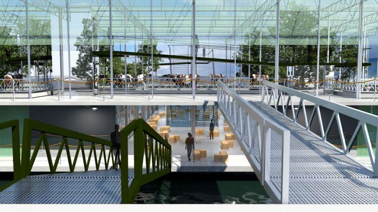 Beladon – building behavior, Floating Farm