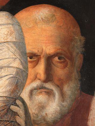 Giovanni Bellini, Presentazione di Gesù al Tempio, particolare