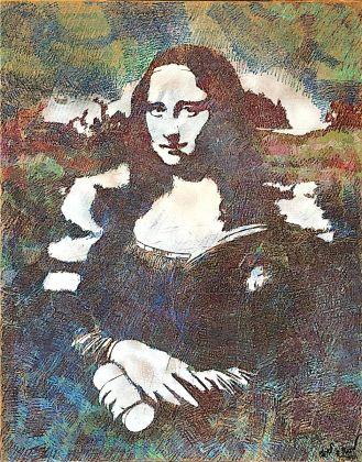Blek Le Rat, Mona Lisa, 2012