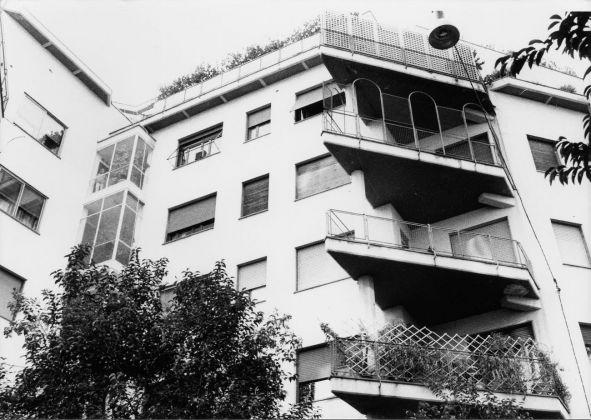 Bruno Zevi & Silvio Radiconcini, Palazzina in via Giuseppe Pisanelli, Roma 1950-52