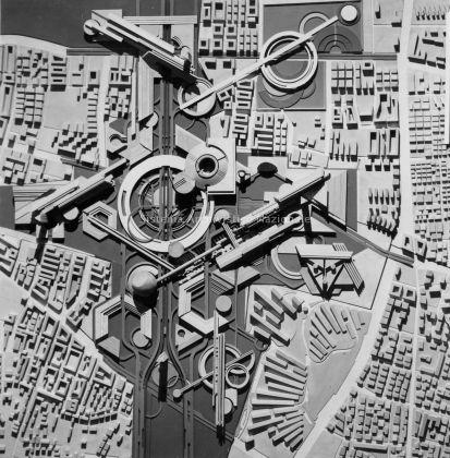 Bruno Zevi e Studio Asse, Asse attrezzato, test Prenestino Casilino (soluzione 2), Roma 1967-70
